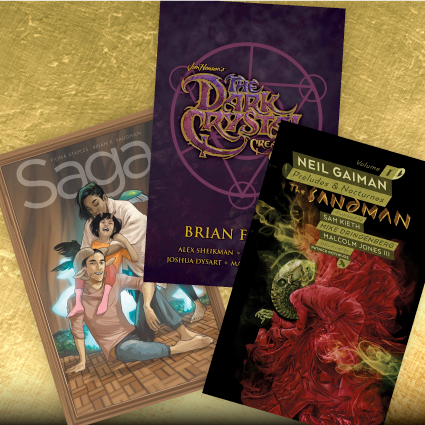 Holiday Gift Guide - Graphic Novels