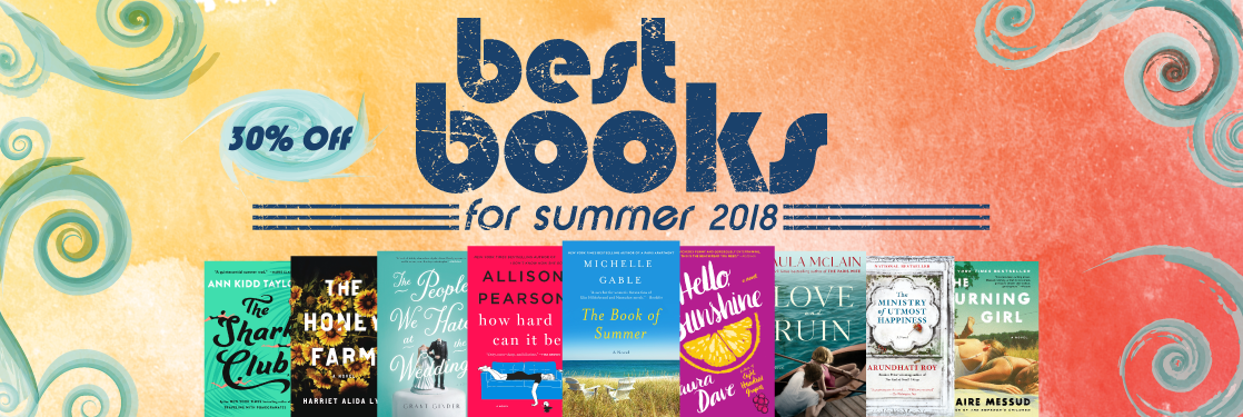 2018 Best Books For Summer 30% off
