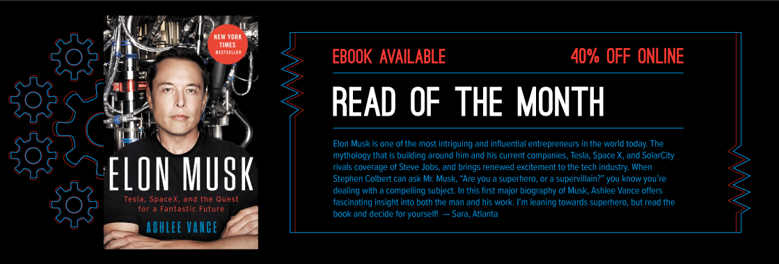 Elon Musk Ashlee Vance Read of the Month