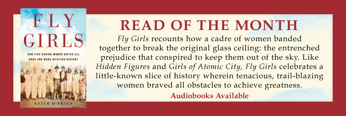 Hudson booksellers the travelers best friend fly girls keith obrien read of the month fandeluxe Image collections