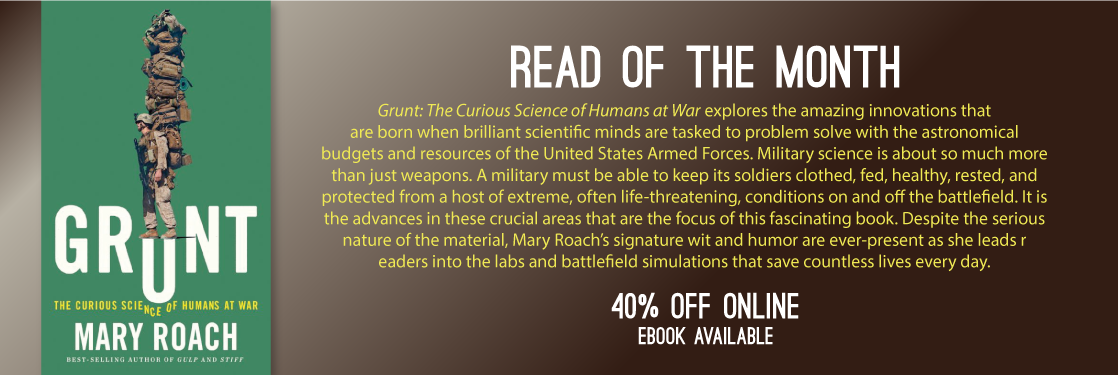 Grunt Best Book Mary Roach Read of the Month
