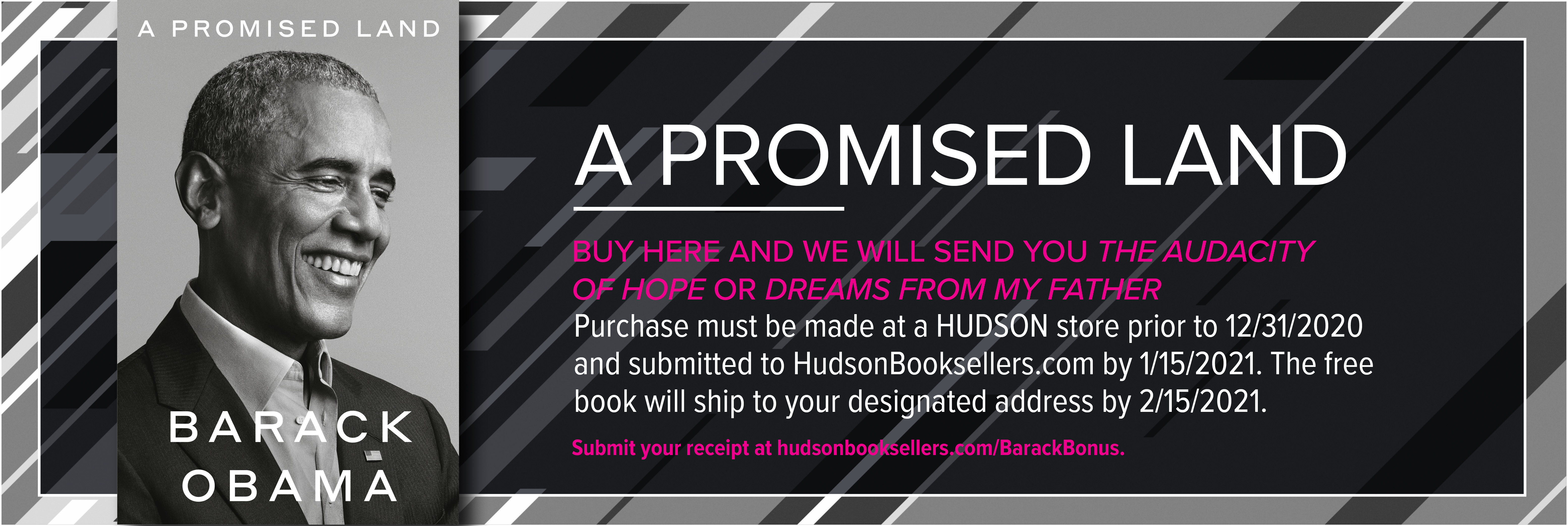 A Promised Land Free Book Offer