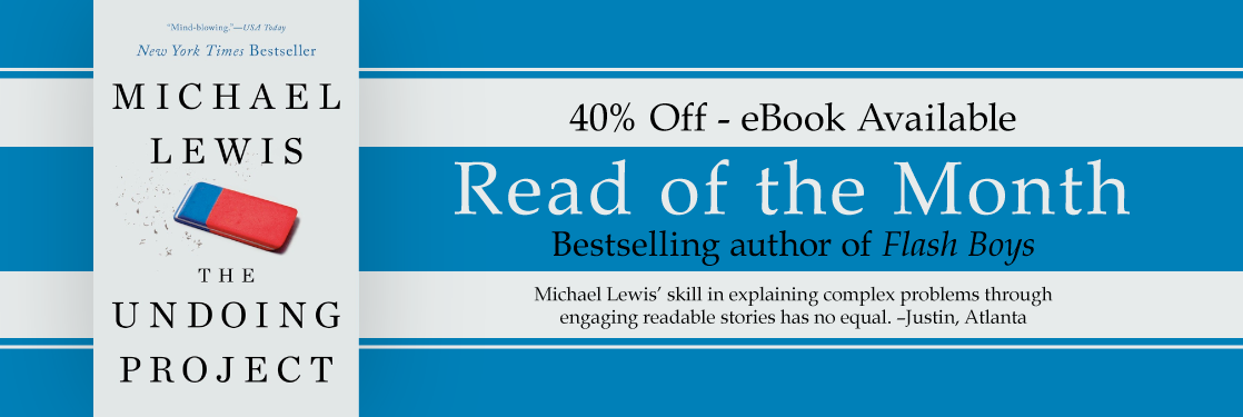 Undoing Project Michael Lewis Read of the Month