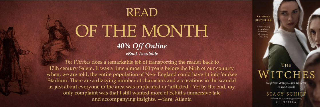 The Witches Stacy Schiff Read of the Month