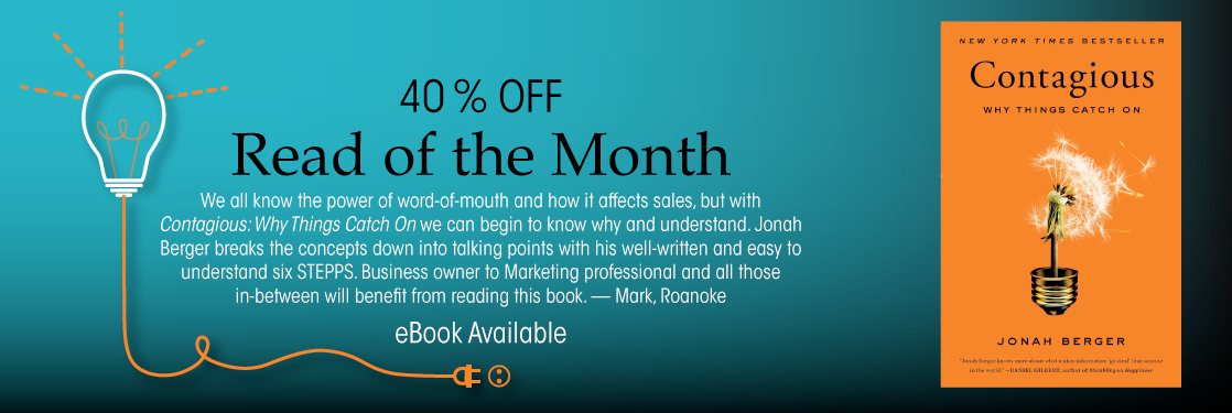 Contagious Jonah Berger Read of the Month